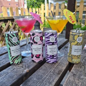 📢 New Product Alert 📢 Our New Canned Cocktail Range is now in Stock available in 4 different Flavours 🍸