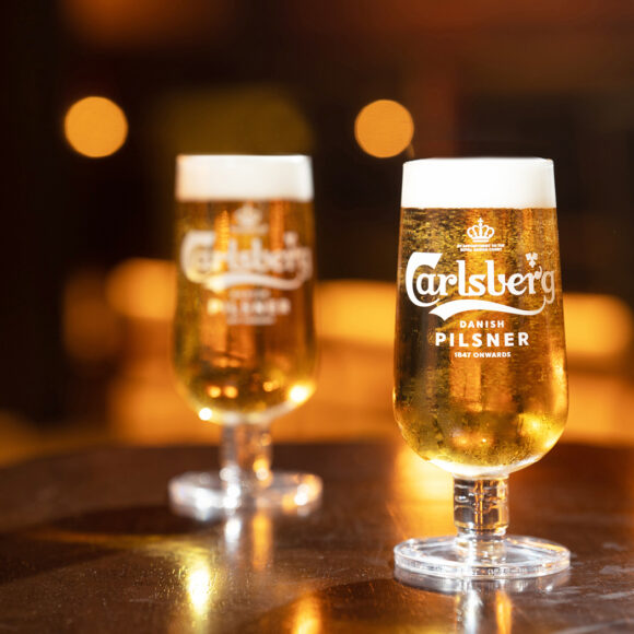 Carlsberg £3 a pint. ALL DAY EVERYDAY